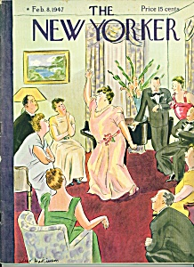 The New Yorker magazine -  Feb. 8, 1947 HOKINSON COVER (Image1)