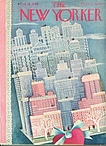 The New Yorker magazine   Feb. 15, 1947 ILONKA KARASZ (Image1)