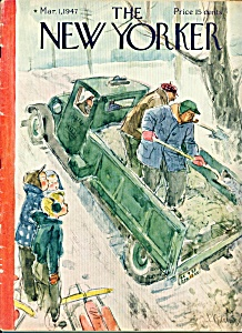 The New Yorker Magazine   March 1, 1947 PERRY BARLOW (Image1)