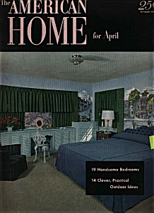 American Home for April  - April 1952 (Image1)