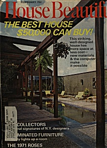 House Beautiful - February 1971 (Image1)