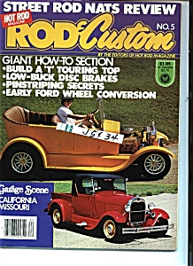 Rod & Custom Magazine  No. 5 - Copyright 1978 (Image1)
