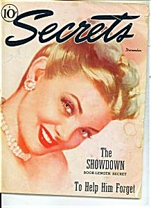 Secrets magazine - December 1945 (Image1)