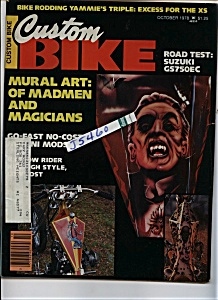 Custom Bike - October 1978 (Image1)