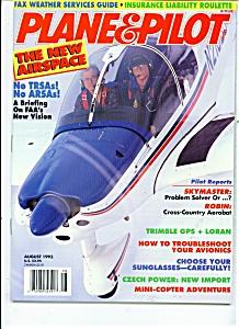 Plane & Pilot magazine- August 1992 (Image1)