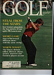 Golf Magazine - December 1980 (Image1)