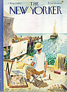 The New Yorker magazine  - August 2, 1947 GARRETT PRICE (Image1)