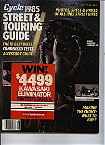Street & Touring Guide - 1985 (Image1)