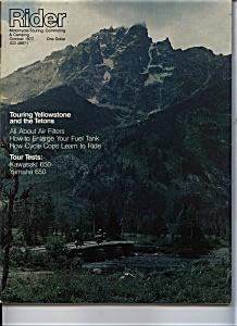 Rider - October 1977 (Image1)