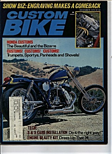 Custom Bike - December 1979 (Image1)