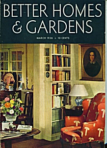 BetterHomes & Gardens magazine-  March 1936 (Image1)