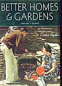 Better Homes & Gardens magazine - June 1937 (Image1)