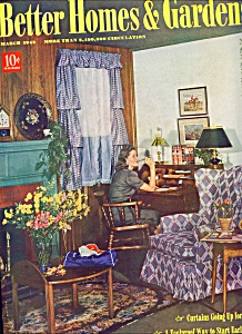 Better Homes & Gardens magazine -  March 1942 (Image1)