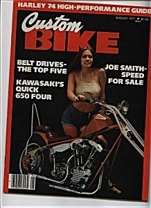 Custom Bike - August 1977 (Image1)