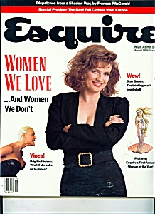 Esquire magazine - August 1988 (Image1)