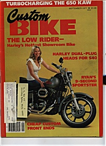 Custom Bike - September 1977 (Image1)