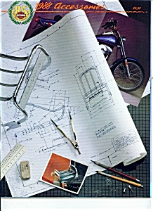 1988 Harley Davidson Motorcycles Plus CATALOG 64 pg (Image1)