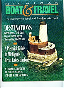Michigan Boat & Travel Magazine - 1991