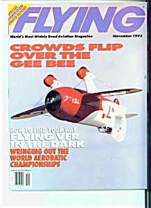 Flying magazine = November 1992 (Image1)