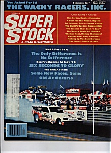 Super Stock & drag illustrated - February 1977 (Image1)