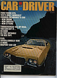Car and Driver - September 1971 (Image1)