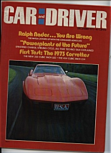 Car and Driver - December 1972 (Image1)