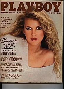 Playboy Magazine - June 1981 (Image1)