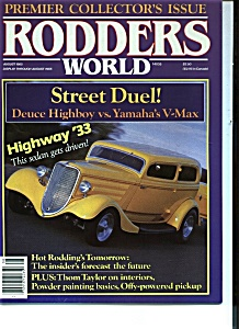 Rodders World - August 1985 (Image1)