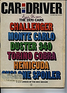 Car  and Driver - October 1969 (Image1)