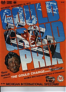 Gould Grand Prix program - September 16, 1978 (Image1)