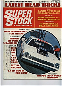 Super stock & drag illustrated - January 1976 (Image1)