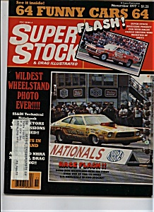 Super Stock & Drag Illustrated - November 1977