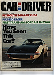 Car and Driver - July 1970 (Image1)