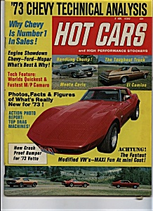 Hot Cars - Nov, 1972 (Image1)