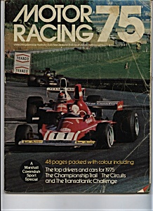 Motor Racing 75  -A Marshall Cavendish special (Image1)