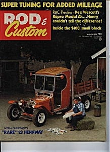 Rod & Custom  - March 1974 (Image1)