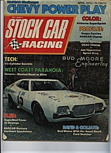 Stock Car Racing- April 1973 (Image1)