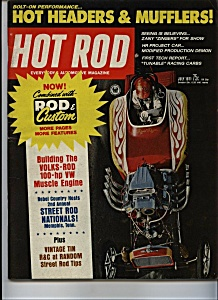 Hot Rod - July 1981