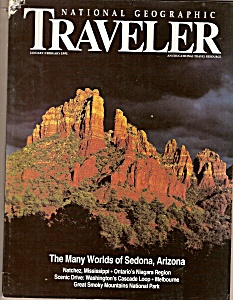 National Geographic Traveler - Jabn., Feb. 1991