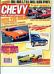 Chevy high performance magazine -October 1990 (Image1)