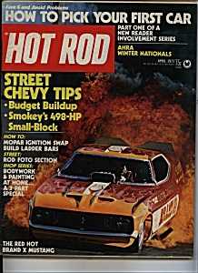 Hot Rod - April 1973