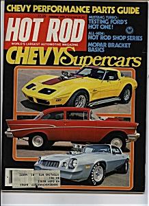 Hot Rod  - Auigust 1979 (Image1)