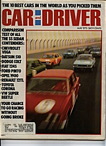 Car and Driver -May 1972 (Image1)