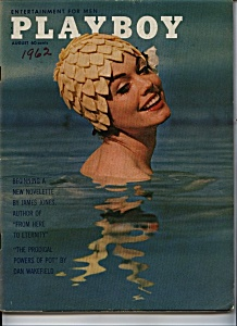 1962 PLAYBOY MAGAZINE AUGUST VARGAS Jan Roberts (Image1)