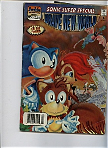 Brave New World - Sonic super special - Archie adventur (Image1)