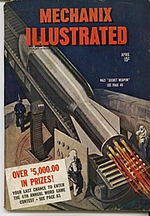 Mechanix Illustrated Magazine  = April 1944 (Image1)