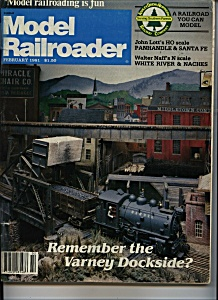 Model Railroader -  February 1981 (Image1)