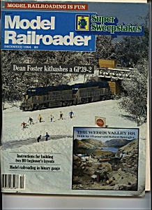 Model Railroader - December 1984 (Image1)