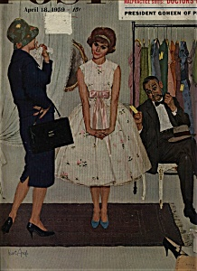 The Saturday Evening Post  -  April 18, 1959 Vintage (Image1)