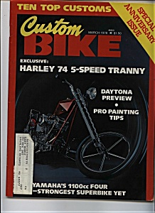 Custom Bike - March 1978 (Image1)